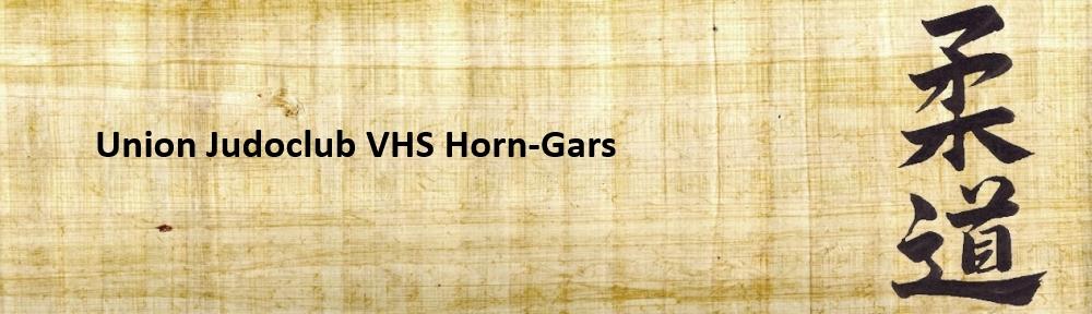 Union Judoclub VHS Horn-Gars
